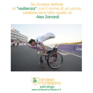 Andrea Montesano Psicologo Alex Zanardi è maestro di psicologia la resilienza è alzarsi più forti di prima